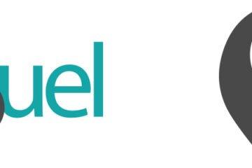 vissuel identitet logo og grafisk element for Vissuel I/S