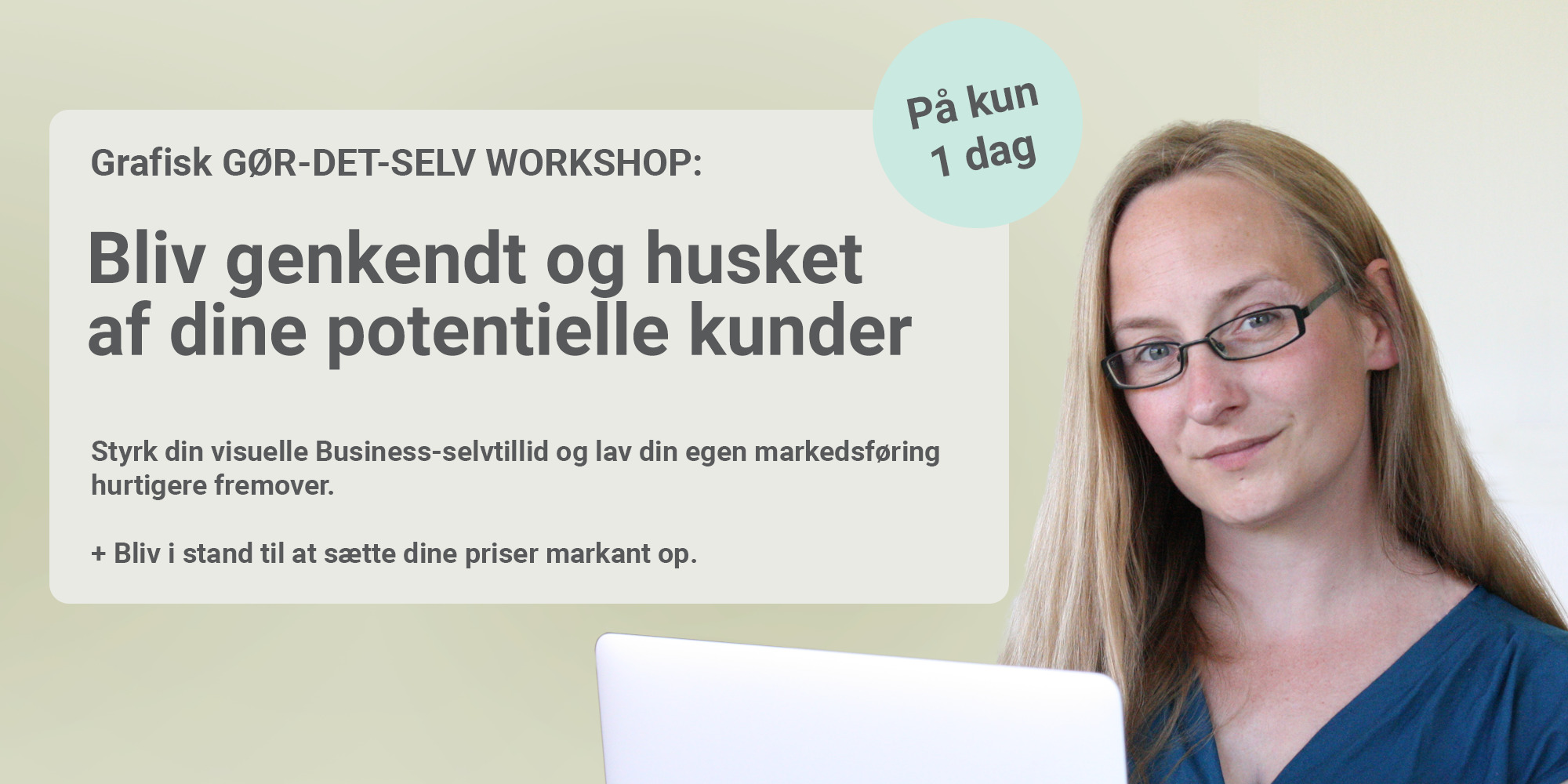 Sarah Møller Pedersen - Bliv genkendt og husket